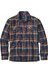 Patagonia M's Fjord LS Flannel Shirt Blue Ox: Navy Blue